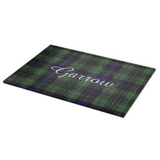 Garrowの一族の格子縞のスコットランドのキルトのタータンチェック カッティングボード