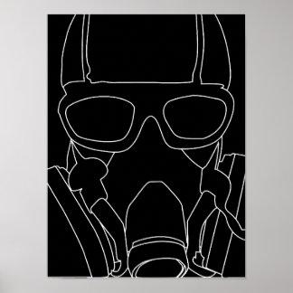 Gasmaskポスター ポスター