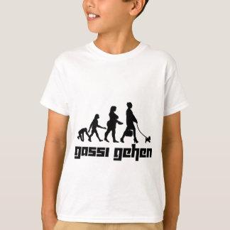 Gassiはgehen Tシャツ