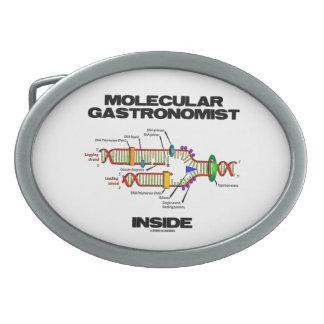Gastronomistの分子内部(DNAの写し) 卵形バックル