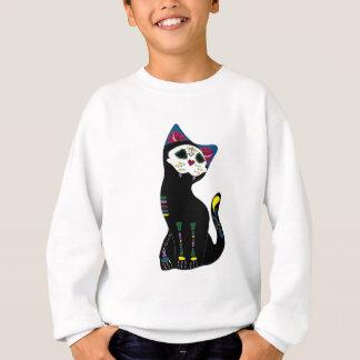 「Gato Muerto」Dia De Los Muertos Cat スウェットシャツ