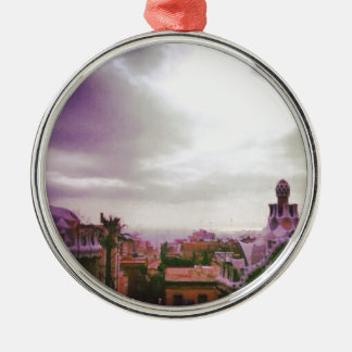 Gaudiのバルセロナ メタルオーナメント