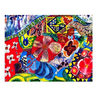 Gaudiのベンチ1 ポストカード