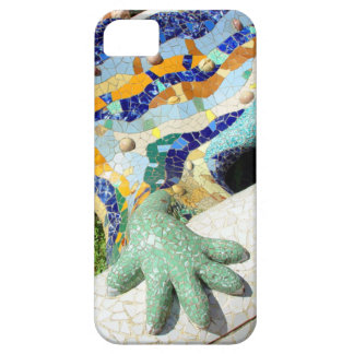 Gaudiのモザイク手 iPhone SE/5/5s ケース