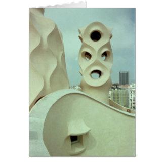 Gaudiの彫刻(ブランク) カード