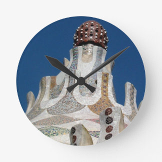 Gaudiの時計 ラウンド壁時計