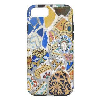 Gaudiの黄色いタイル-鏡 iPhone 8/7ケース