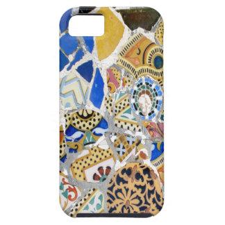 Gaudiの黄色いタイル-鏡 iPhone SE/5/5s ケース