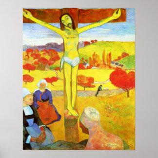 Gauguin黄色いキリストのポスター ポスター