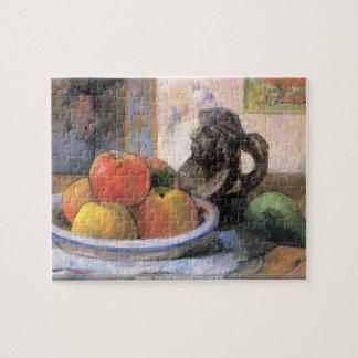 Gauguin -りんごのナシおよびKragの静物画 ジグソーパズル