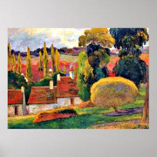Gauguin: ブリッタニーの農場 ポスター