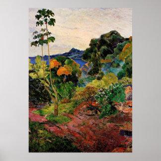 Gauguin -熱帯植物 ポスター
