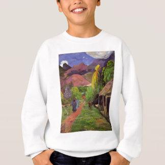 Gauguin_-_Rue_de_Tahiti スウェットシャツ