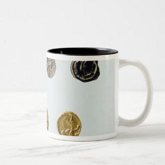 Gaulish硬貨、紀元前のc.750-0 ツートーンマグカップ