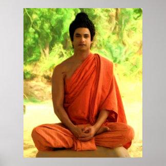 Gautama Buddha ポスター