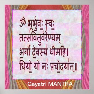 GAYATRIの信念への献呈 ポスター