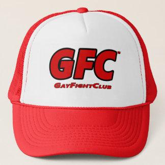 GayFightClub™の赤いトラック運転手の帽子 キャップ