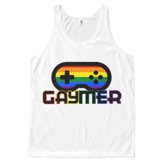 Gaymerのタンクトップ オールオーバープリントタンクトップ