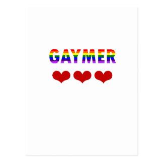 Gaymer (v1) ポストカード