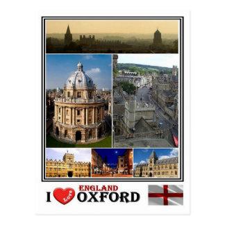 GBイギリス-オックスフォード- ポストカード