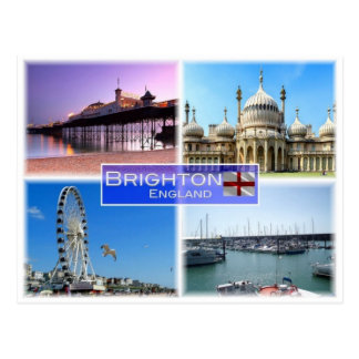 GB United Kingdom - England - Brighton - ポストカード