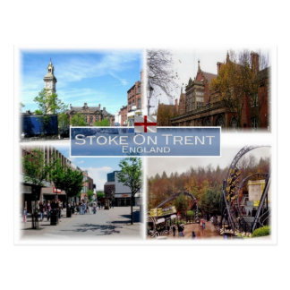 GB United Kingdom - England - Stoke-On-Trent - ポストカード