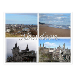 GB United Kingdom - Scotland -  Aberdeen - ポストカード