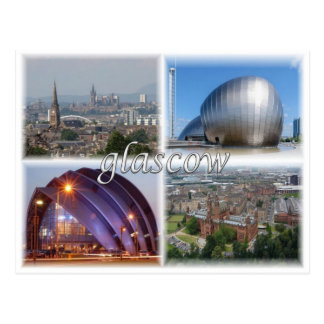 GB United Kingdom - Scotland - Glasgow - ポストカード