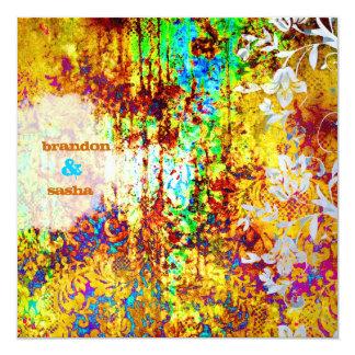 GC |のくぼんだ宝物|鮮やかな|花 カード