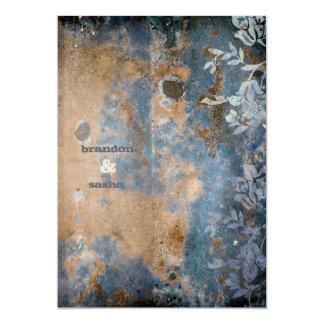 GC |魅惑的に素朴なw/flower |の金金属 カード