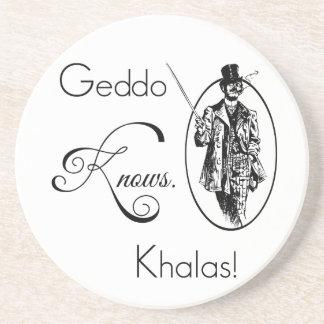 Geddoは知っています。 Khalas! コースター
