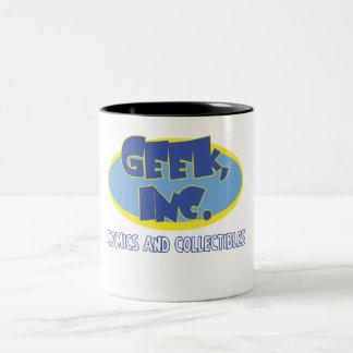 Geek、Inc.の喜劇的なツートーンマグ ツートーンマグカップ
