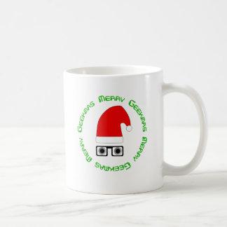 Geekmasのメリーなマグ コーヒーマグカップ