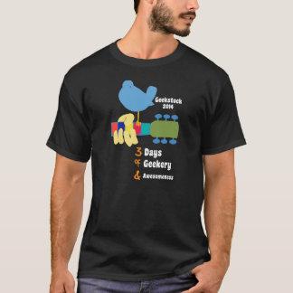Geekstockのフェスティバル2014の役人T Tシャツ