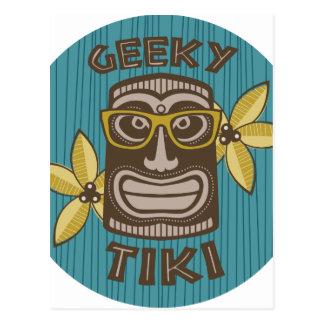 Geeky Tiki ポストカード