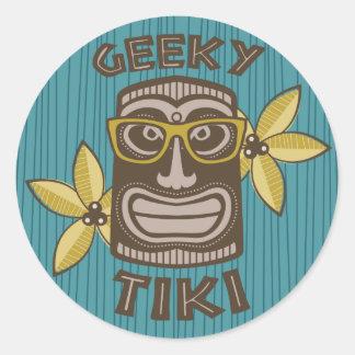 Geeky Tiki ラウンドシール