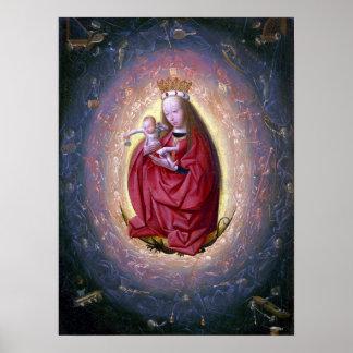 Geertgenの幼児Sint Jansヴァージンの称賛 ポスター