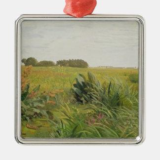 Geestと沼地間、c.1880 メタルオーナメント