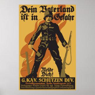 GefahrのDein Vaterland ist ポスター