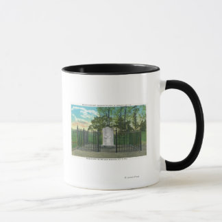 GENベネディクトアーノルドの残された足記念碑 マグカップ