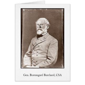 Gen. Bureaugard Burchard、CSA カード