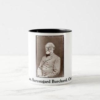 Gen. Bureaugard Burchard、CSA、Gen. Bureaugard… ツートーンマグカップ
