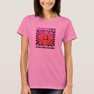 Gendercide: 殺害のTシャツをストップ Tシャツ