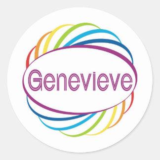 Genevieve ラウンドシール