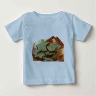 Gengerのパンの星のクッキー ベビーTシャツ