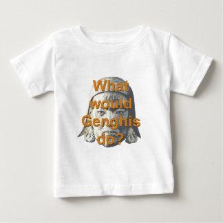 Genghisは何をしますか。 ベビーTシャツ