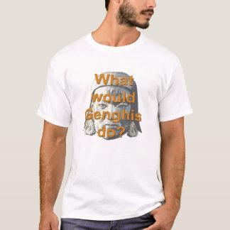 Genghisは何をしますか。 Tシャツ