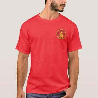 Genghis Khan/モンゴルの記号のワイシャツ Tシャツ
