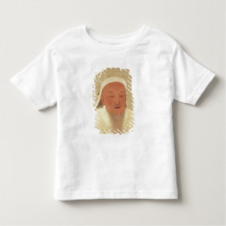 Genghis Khan、モンゴル語Khanのポートレート トドラーTシャツ