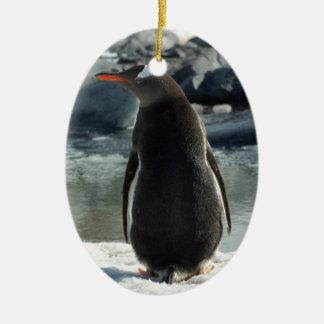Gentooのペンギンのオーナメント セラミックオーナメント